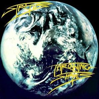 Stratus (English band) - Image: Stratus Throwing Shapes album cover