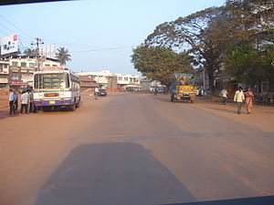 Surathkal - Junction of NH-17 and Bajpe road at Suratkal