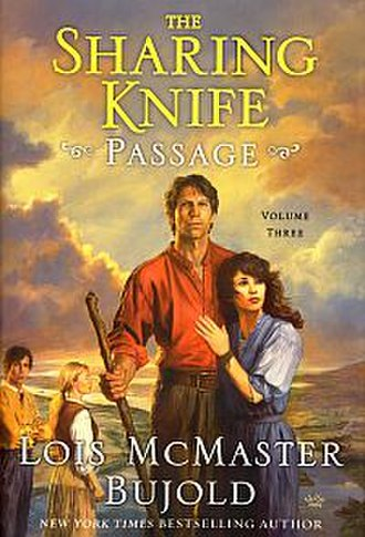Passage (Bujold novel) - Cover of first edition (hardcover)