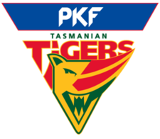 The current Tigers logo as adopted in 1995-96. Tassie Tigers.png