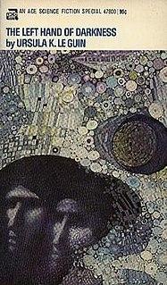 <i>The Left Hand of Darkness</i> 1969 science fiction novel by Ursula K. Le Guin