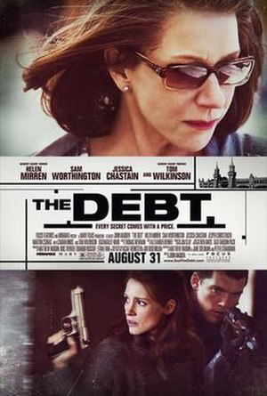 The Debt (2010 film) - Theatrical release poster