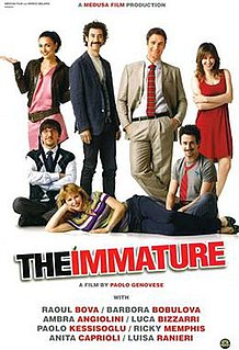 <i>The Immature</i> 2011 film by Paolo Genovese