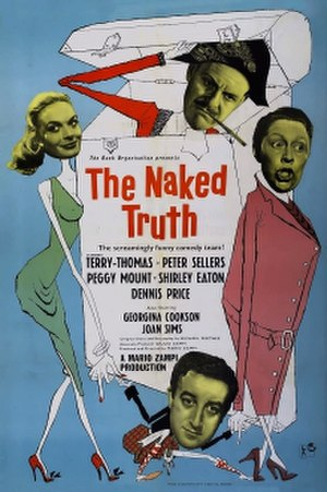 The Naked Truth (1957 film) - UK film poster