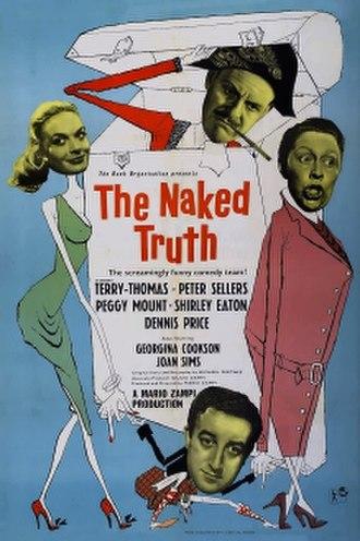 The Naked Truth (1957 film) - UK film poster