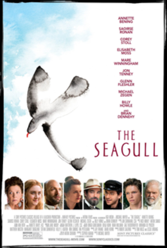 The Seagull (2018 film) - Theatrical release poster