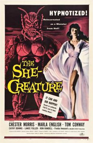 The She-Creature - Image: The She Creature Film Poster