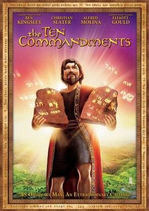 The Ten Commandments (2007 film) - DVD cover