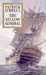 <i>The Yellow Admiral</i> 1996 novel by Patrick O'Brian