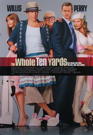 The Whole Ten Yards - North American theatrical release poster