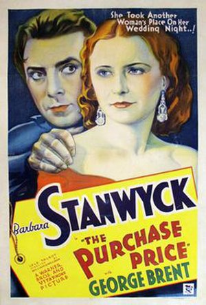 The Purchase Price - Theatrical release poster