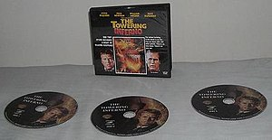 Video CD - Films released on VCD can come as many as 3 discs, depending on the length of the film. Cases of VCDs are shaped like those of audio CDs. DVD and Blu-ray cases, however, favor height over width.
