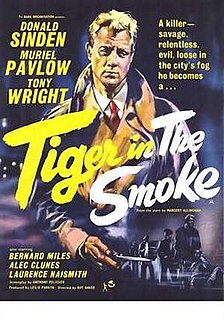 <i>Tiger in the Smoke</i> 1956 film by Roy Ward Baker