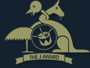J Award - The J Award logo. (2005)