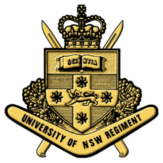 University of New South Wales Regiment - Badge of the UNSW Regiment