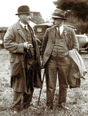 Thomas Westropp Bennett - Thomas Westropp Bennett and George C. Bennett, circa 1928