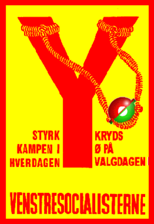 Left Socialists - VS election campaign in support of the Red-Green Alliance