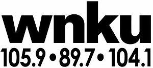WPAY-FM - Image: WNKU 105.9 89.7 104.1 logo