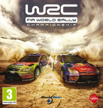 WRC FIA World Rally Championship - Cover art