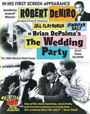 The Wedding Party (1969 film) - DVD cover for The Wedding Party