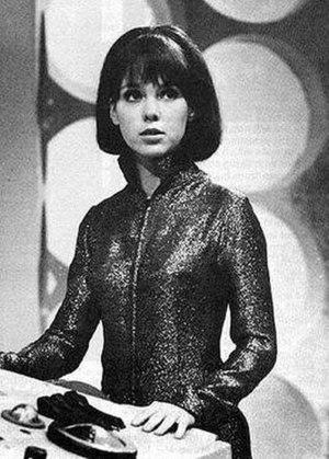 Alcester Grammar School - Wendy Padbury as Zoe Heriot in 1968