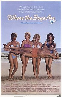 <i>Where the Boys Are 84</i> 1984 film by Hy Averback