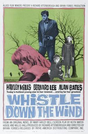 Whistle Down the Wind (film) - Film poster by Renato Fratini