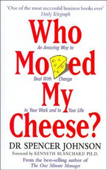 Who Moved My Cheese Quotes Classy Who Moved My Cheese  Wikipedia