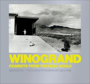 Garry Winogrand - The cover of Figments from the Real World.