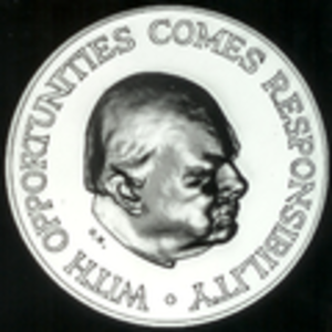 Winston Churchill Memorial Trusts - Winston Churchill Memorial Trust Fellowship Medal, Obverse