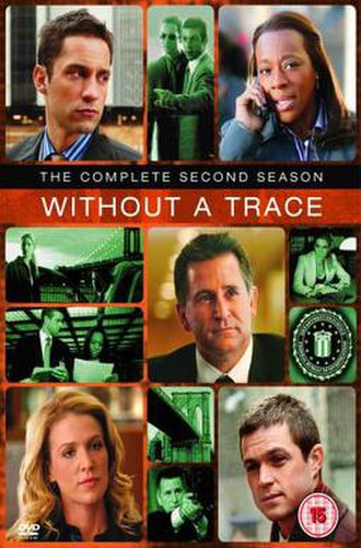 Without a Trace (season 2) - DVD cover