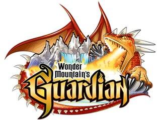 Wonder Mountains Guardian roller coaster
