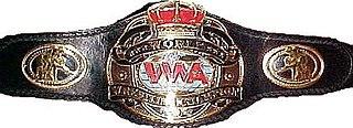 WWA World Heavyweight Championship professional wrestling world heavyweight championship (2001-2003)