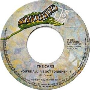 You're All I've Got Tonight - Image: You're All I've Got Tonight