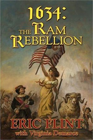 1634: The Ram Rebellion - Hardcover anthology cover art.
