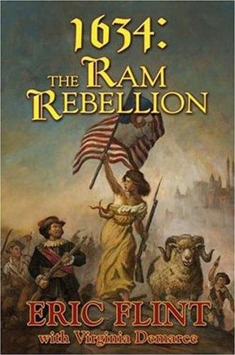 1634: The Ram Rebellion - Hardcover anthology cover art.