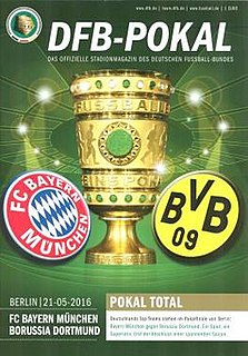2016 DFB-Pokal Final association football match