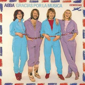 Gracias Por La Música - Image: ABBA Gracias Por La Musica (Polar)