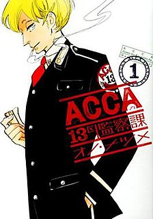 <i>ACCA: 13-Territory Inspection Dept.</i> Japanese manga series