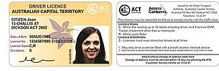 Driver licences in Australia