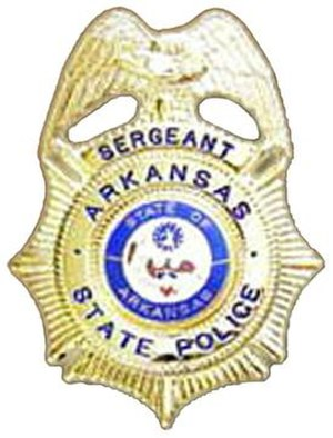 Arkansas State Police - Image: AR State Police Badge