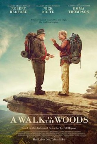 A Walk in the Woods (film) - Theatrical release poster