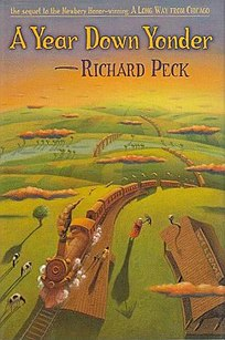 <i>A Year Down Yonder</i> book by Richard Peck