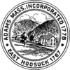 Official seal of Adams, Massachusetts