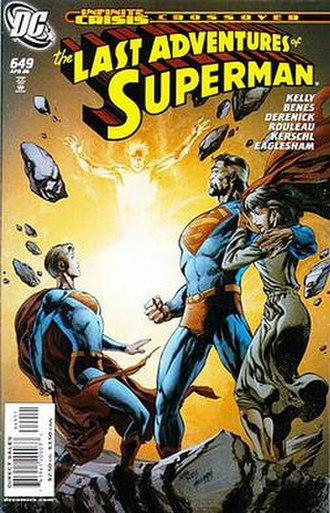 Superman (comic book) - Image: Adventures of Superman 649