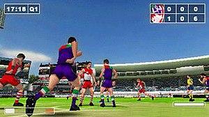 AFL Challenge - Fremantle vs. Sydney Swans screenshot