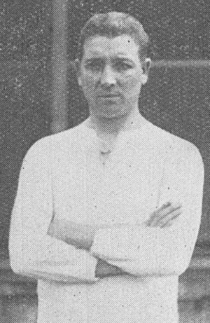 Alex Graham (footballer) - Graham while with Brentford in 1925.