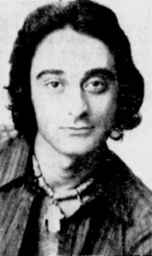 Alexis Kirk - Alexis Kirk in 1970 wearing a necklace of his own design.