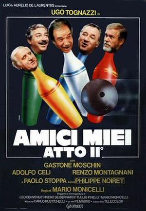All My Friends Part 2 - Italian theatrical release poster