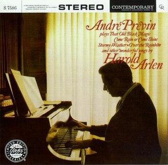 André Previn Plays Songs by Harold Arlen - Image: André Previn Plays Songs By Harold Arlen